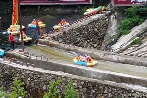 周边亲子漂流_武汉出发去京山鸳鸯溪漂流、美人谷两日游漂流基地