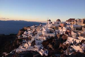 希腊一地10天 圣爱·梅黛奥拉 双岛+悬崖酒店+伊亚落日