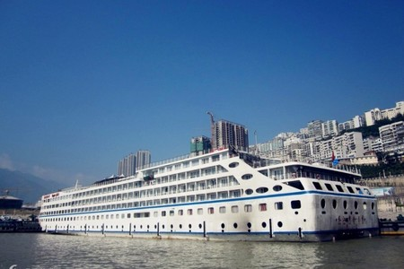 长江三峡黄金系列游轮游船 宜昌-重庆三峡旅游船票5天4晚跟团