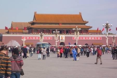 青岛去北京旅游线路,故宫八达岭,天坛颐和园,北京大学轻松四日