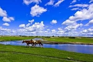 放假了去草原旅游推荐_海拉尔、大草原、国门、呼伦湖风情四日游