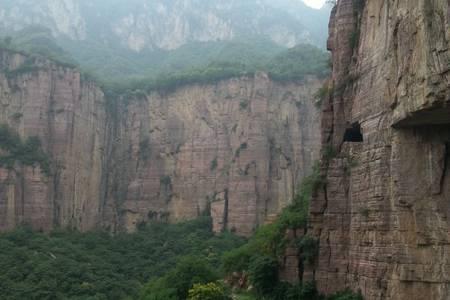 河南郭亮村、万仙山2日游,绝壁长廊,太行山挂壁公路
