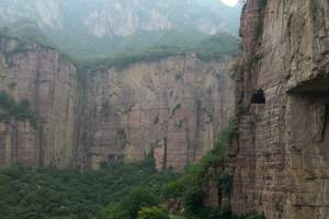 <特惠198>河南郭亮村、万仙山2日游,绝壁长廊,影视基地