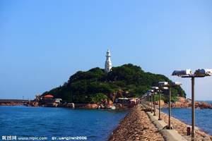 暑假带孩子来青岛海边玩啦_青岛市区休闲一日游_观琴屿飘灯胜景