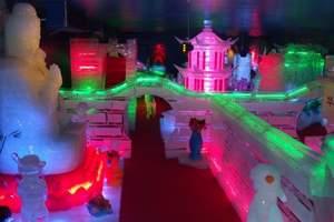 到河北省国际冰雪节一日游(含蓝鲸冰雕馆雪乐园通票)