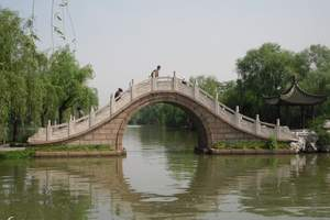 宜昌到华东、扬州双动五日游(含瘦西湖、乌镇、木渎、留园)