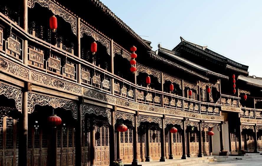 中国古城古镇地图 台儿庄古城