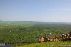 根河敖鲁古雅使鹿部落、朝鲜族红旗村360°全景之冠火车17日