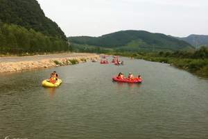 奇石峡漂流一日游,丹东漂流大行动