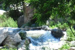 暑假石家庄到驼梁避暑2日游   山中乘凉 呼吸大山的味道
