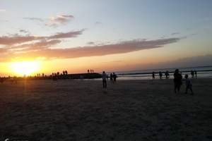 暑期带孩子去哪玩 郑州到巴厘岛6天 南湾海龟岛情人崖下午茶