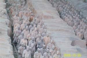 夕阳红旅游—泰安去西安兵马俑、华清池、法门寺、钟鼓楼双卧5日