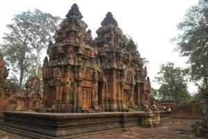 西安包机直飞柬埔寨旅游团|柬埔寨吴哥6日游线路介绍|东盟歌舞