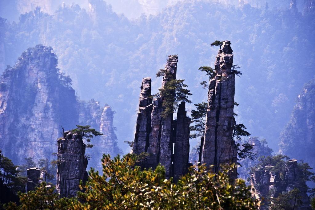 公主岭到长沙旅游,森林公园,宝峰湖/黄龙洞,凤凰古城4