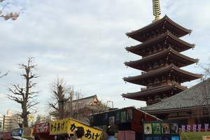 西安去日本浅草寺旅游游玩攻略 日本浅草寺双飞六天旅游线路咨询