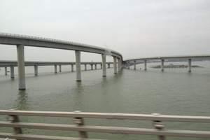 青岛【胶州湾跨海大桥】【海底隧道】 【小珠山】漫步金沙滩