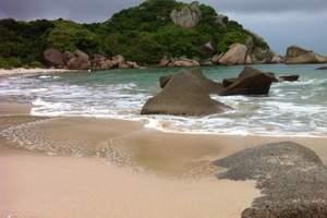 北海銀灘+野生動物園+歡樂主題公園+加勒比水上世界雙臥5日游