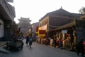 濟南到開封、洛陽、少林寺、西安旅游【古都風情】純玩五天無購物