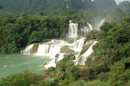 【悠游边境之旅】南宁起止德天跨国瀑布、通灵大峡谷纯玩二日游