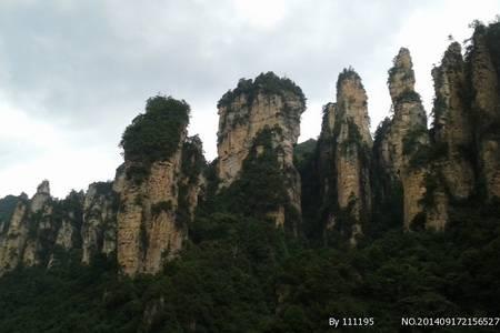 张家界森林公园一日游��袁家界+杨家界+金鞭溪+十里画廊��
