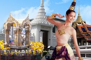 青岛出发去泰国旅游推荐_泰国一地五晚七天豪华游游_月落女娲石