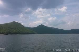 东北哈尔滨镜泊湖吊水楼瀑布长白山北坡西坡天池双卧八日游