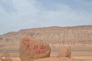 【新疆吐鲁番旅游】乌鲁木齐到吐鲁番火焰山动车往返1日游,A1