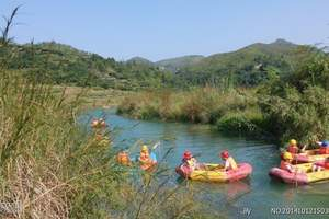 玫瑰小镇穿越情人谷、挑战峡谷浮桥、野炊包水饺一日游-亲子活动