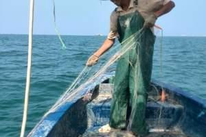 北海出海打渔