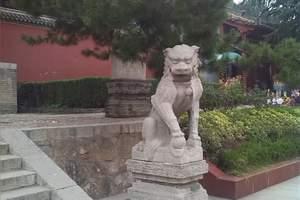 普救寺右石狮子