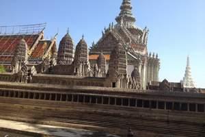 青岛到泰国纯玩团-泰国曼谷芭提雅、泰餐全席、黄金屋无自费6日