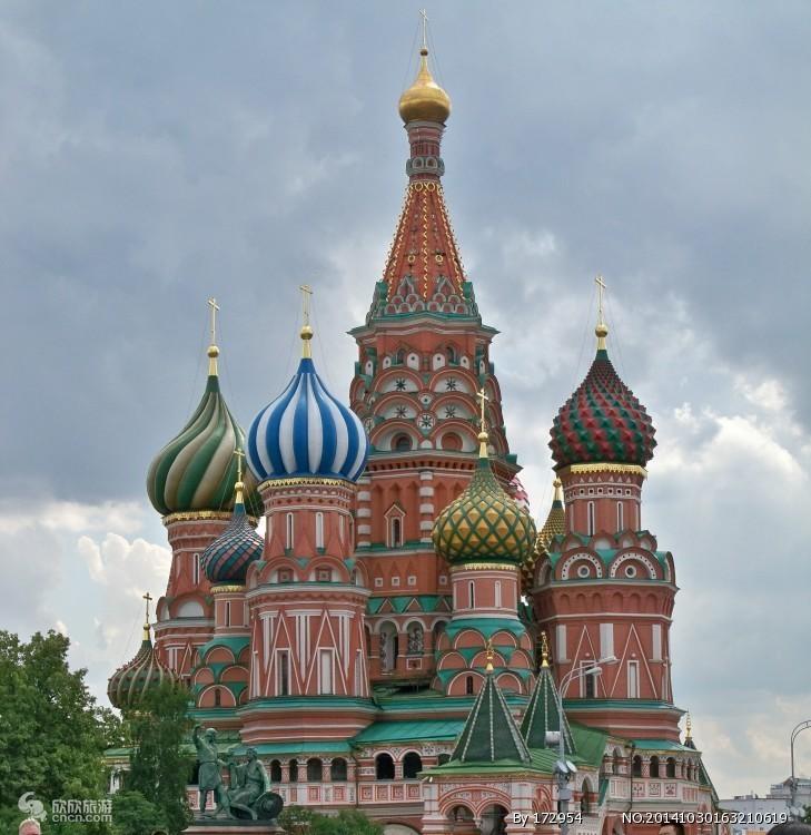 新疆乌鲁木齐到俄罗斯旅游:圣彼得堡.莫斯科8日游-经典超值