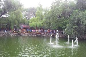 春节青岛到北京旅游价格  青岛到北京双高纯玩4日游(赶庙会)