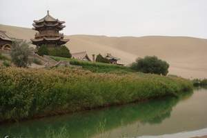 7月西北经典旅游 兰州去敦煌、莫高窟 嘉峪关城楼动车三日