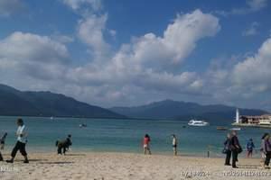 海南零自费分界洲岛、猴岛海口往返双飞6日游