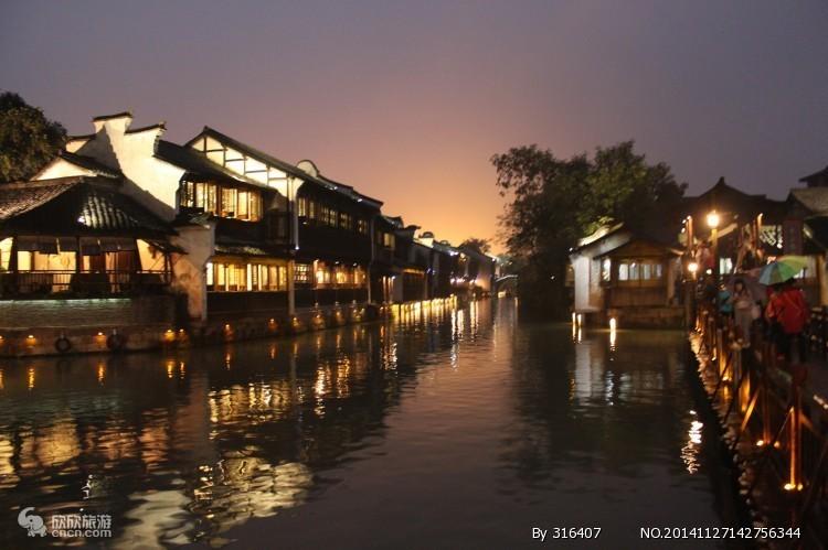 情迷四西--夜游乌镇西栅情迷西塘、杭州西溪湿地一期西湖美