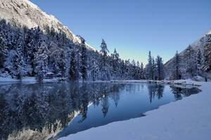 1月2月成都去米亚罗毕棚沟 滑雪看雪山2日游价格:送温泉