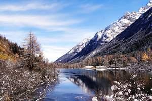 成都去理县米亚罗毕棚沟滑雪度假2日游指南 冬季毕棚沟风光景色