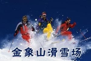 济南金象山滑雪场1日游_淄博去金象山滑雪场旅游团_淄博出发