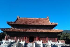 清东陵一日游:北京出发到清东陵旅游 巴士1日跟团游 天天发团
