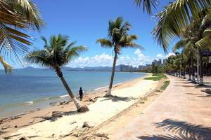 扬州到海南三亚蜈支洲岛 天涯海角 亚龙湾 蜜月旅游双飞5日游