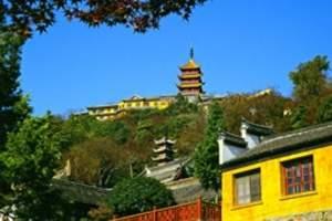 扬州到苏州木渎、灵岩山、金鸡湖、西山岛大观音寺、明月湾二日游