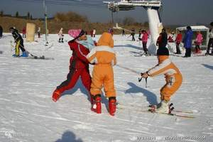 1天温泉+1天滑雪-虹溪谷滑雪+御景山温泉+海鲜自助纯玩2日