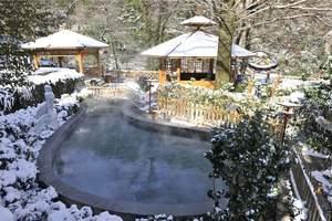 黄山飘雪温泉1晚2日单人自由行自助旅游(住山顶、观日出)