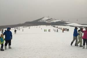 青岛月季山滑雪场自驾票节假日票三小时