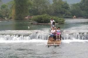 双溪漂流 杭州到余杭双溪漂流一日游 杭州到山沟沟一日游