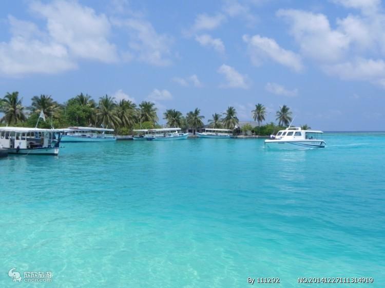 石家庄到马尔代夫旅游线路 蜜月游自由行太阳岛直飞5晚7天