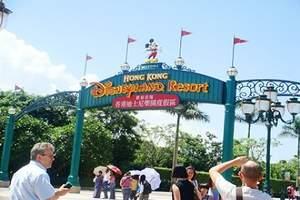 深圳出发 港澳四天海洋公园迪士尼纯玩团、港澳四天三夜主题乐园