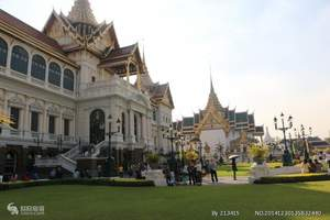 桂林到泰国旅游 曼谷 大皇宫 金东尼人妖歌舞 月光岛6日游