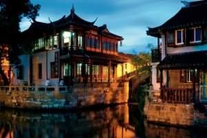 扬州出发到上海长风海洋世界、长风公园赏春一日游
